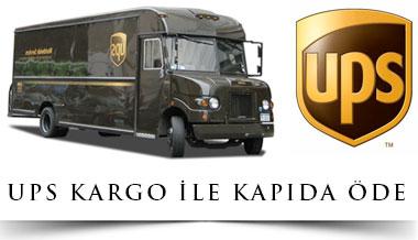 UPS KARGO KAPIDA ÖDE